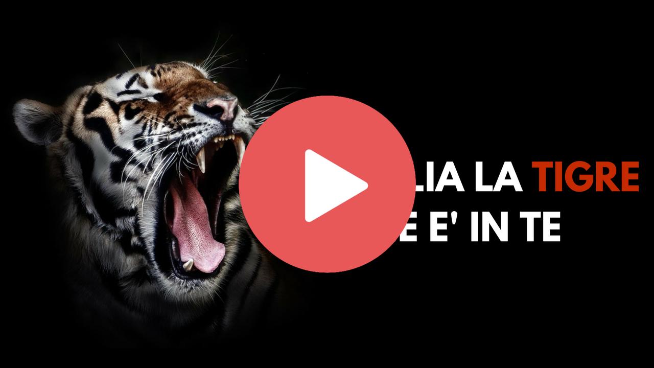 Risveglia la Tigre che é in Te